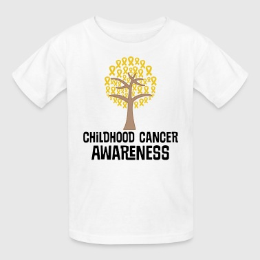 Childhood Cancer Awareness Tree - Kids' T-Shirt