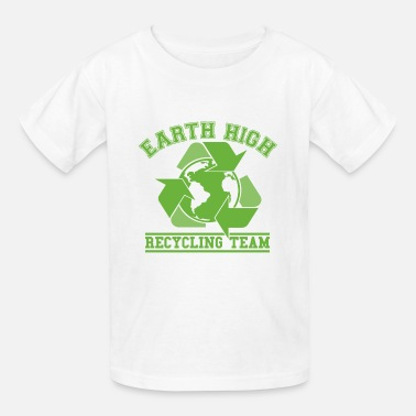 Recycling Earth Recycling Team  - Kids' T-Shirt