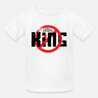 We The Kings NO KING! - Kids' T-Shirt