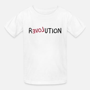 Backwards Clothing Revolution (LOVE) - Kids' T-Shirt