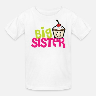 Sister Big sister cupcake - Kids' T-Shirt