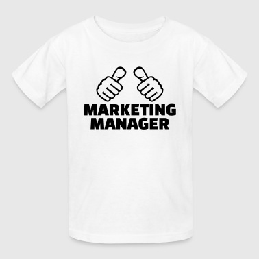 Marketing Manager Marketing manager - Kids' T-Shirt