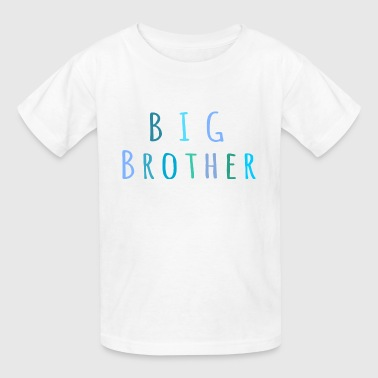 Big Brother in blue - Kids' T-Shirt