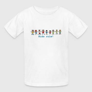 kids rule! - Kids' T-Shirt