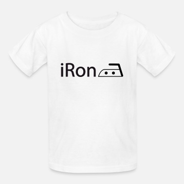Ironing iRon - Kids' T-Shirt