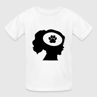 Only Think About My Dog - Kids' T-Shirt