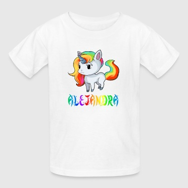 Alejandra Unicorn - Kids' T-Shirt