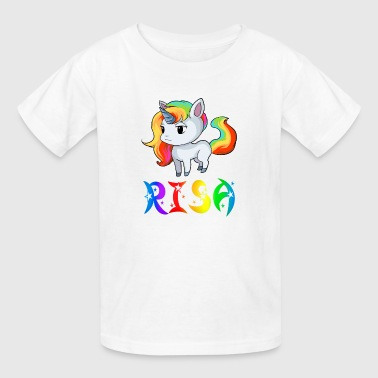 Risa Unicorn - Kids' T-Shirt