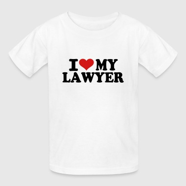I love my Lawyer - Kids' T-Shirt