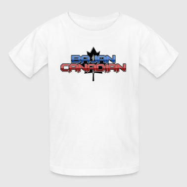 Bajan Canadian - Kids' T-Shirt