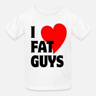 3xl Diet I Love Fat Guys - Kids' T-Shirt