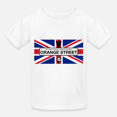 Rude Orange Street GB - Kids' T-Shirt