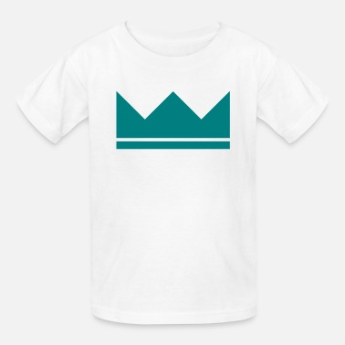 Crown Symbol Crown - Kids' T-Shirt