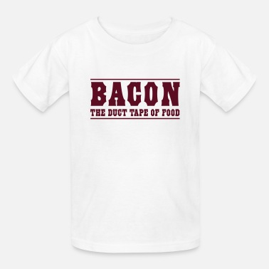 Bacon Bacon is the duct tape of food - Kids' T-Shirt