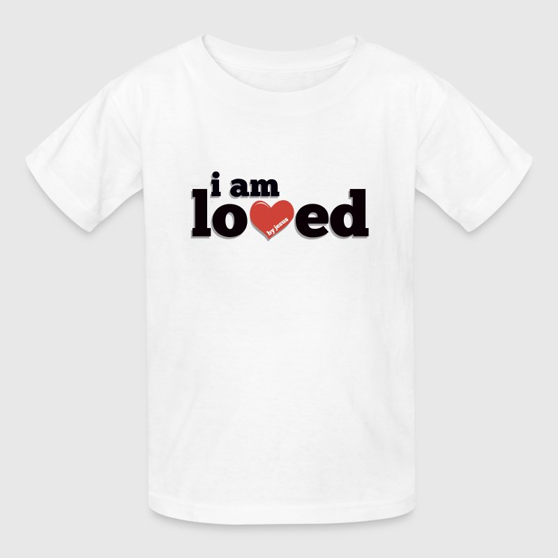 I am Loved by Jesus - Kids' T-Shirt