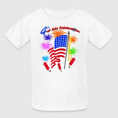4th Of July Celebration - Kids' T-Shirt