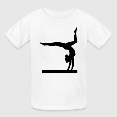 Floor Exercises Dance Gymnastic Ballet Women Girls Teens T-shirts - Kids' T-Shirt