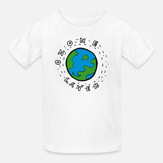 kids' t-shirtearth's ozone layer diagram for kids