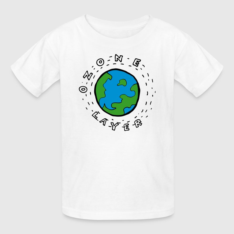 Earths Ozone Layer Diagram For Kids By Azza1070 Spreadshirt