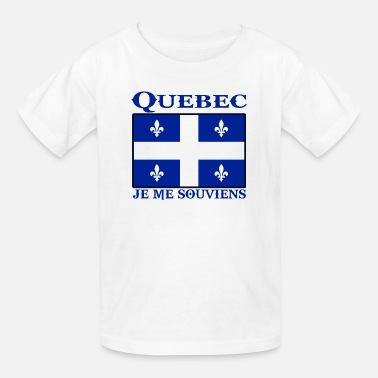 Quebec quebec - Kids' T-Shirt