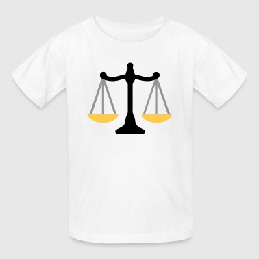 Scales Of Justice Justice Scale - Kids' T-Shirt