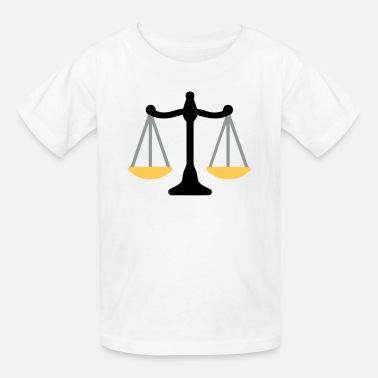In Justice Justice Scale - Kids' T-Shirt