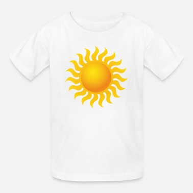 Summer Vacation Sun - Space - Summer - Vacation - Sunshine - Kids' T-Shirt