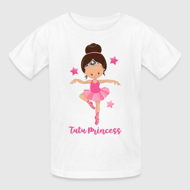 Ballerina Tutu Princess - Kids' T-Shirt