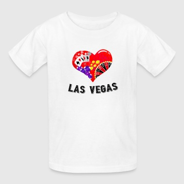 Love Las Vegas Heart design 5 - Kids' T-Shirt