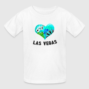 Love Las Vegas Heart design 4 - Kids' T-Shirt