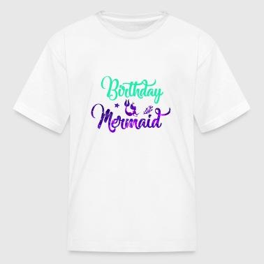 Birthday Mermaid Party Shirt