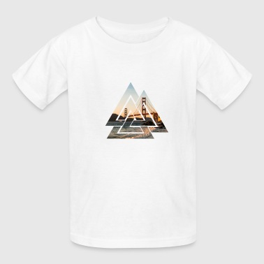 Golden gate bridge - Kids' T-Shirt