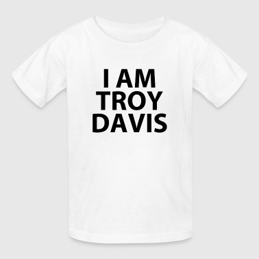 i am troy davis (RIP...) - Kids' T-Shirt