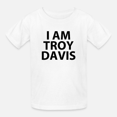 Troy Davis i am troy davis (RIP...) - Kids' T-Shirt