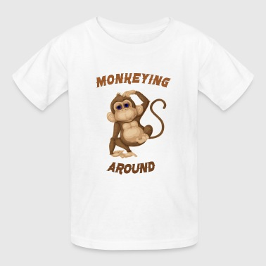 monkeying around - Kids' T-Shirt