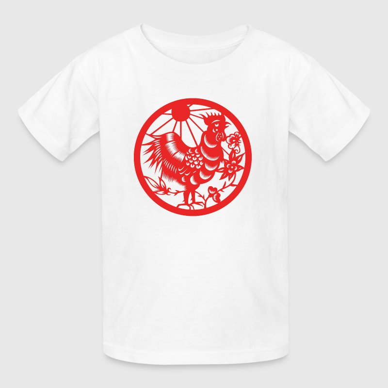 Chinese New Years - Zodiac - Year of the Rooster  - Kids' T-Shirt