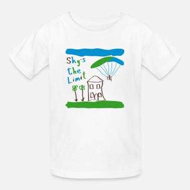 Paragliding Baby Sky`s the Limit Baby - Kids' T-Shirt