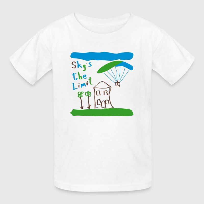 Sky`s the Limit Baby - Kids' T-Shirt