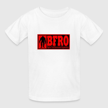 BFRO red - Kids' T-Shirt