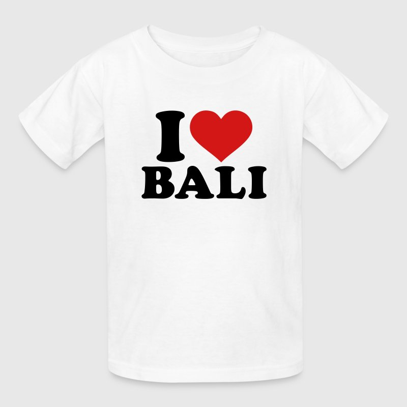 I love Bali - Kids' T-Shirt
