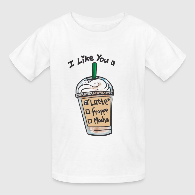 I Like you a Latte - Kids' T-Shirt