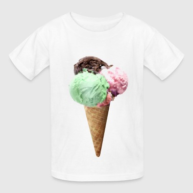 ice cream - Kids' T-Shirt