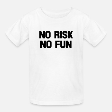Skateboard Provocative no risk no fun - Kids' T-Shirt