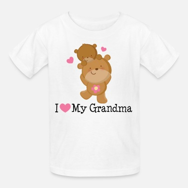 I Love My Grandma I Love My Grandma (Bears) - Kids' T-Shirt