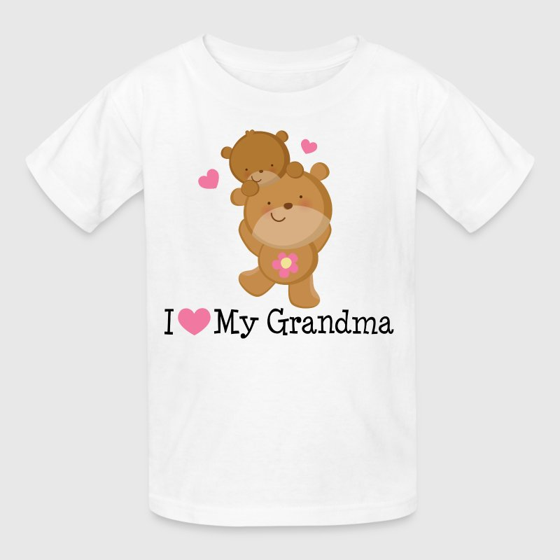 I Love My Grandma (Bears) - Kids' T-Shirt