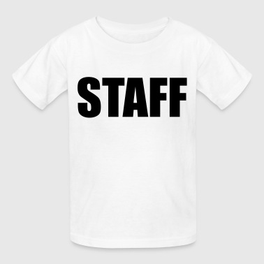 Staff - Kids' T-Shirt