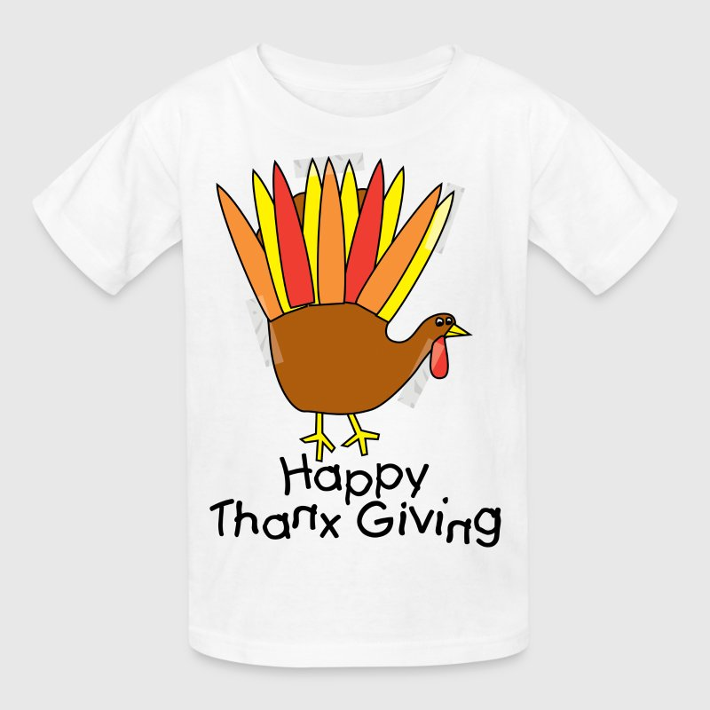 Happy Thanksgiving - Kids' T-Shirt