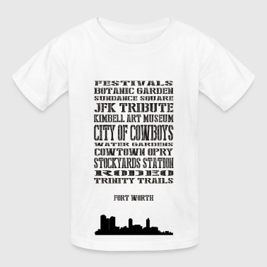 Fort worth - Kids' T-Shirt