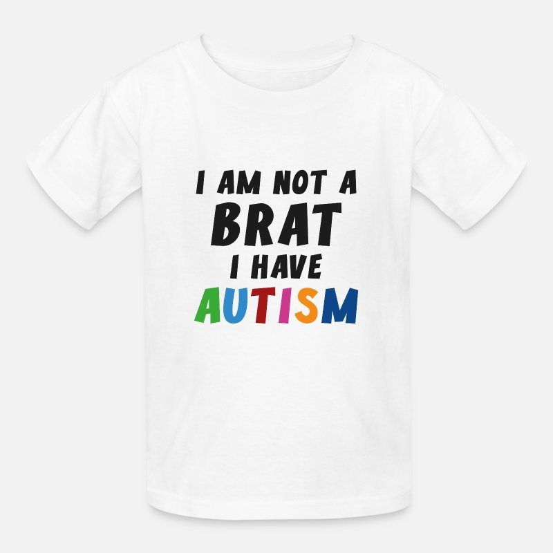 Awareness T-Shirts - I Have Autism - Kids' T-Shirt white