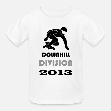 Colourful Longboard Longboard Action Teamrider Downhill Division - Kids' T-Shirt